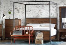 Magnolia Home: Industrial / From the mind of Joanna Gaines... This genre is bold and holds purpose. These pieces come with a strength and a story that inspires the practical side of a room. Industrial pieces came from a place where hard work was happening and are characterized by their signature worn-in, repurposed look. / by Value City Furniture