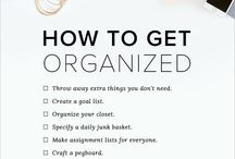 organisational tips