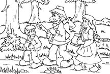 Perníková chaloupka / omalovánky