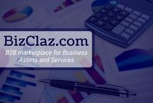 B2B Marketplace / BizClaz.com is the B2B marketplace for business assets and services. BizClaz is a 'freemium' business model users may post free ads anonymously, view and facilitate purchasing without registering and without a subscription