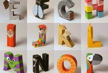 letras caixas