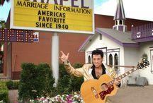 Elvis Weddings / Elvis Weddings at Wee Kirk Wedding Chapel in Las Vegas, Nevada.