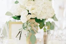Flower themes - white