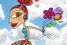 Mis creaciones / Ilustraciones y dibujos hechos por mi, espero que las disfruten !