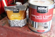 Painting cement porch ideas