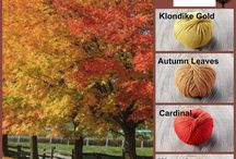 Sugar Bush Colour Palettes / Creating beautiful colour combinations with Sugar Bush Yarns