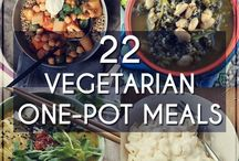 Vegetarian one pot meals !