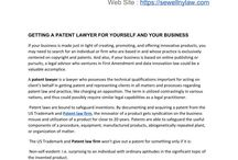 GETTING A PATENT LAWYER FOR YOURSELF AND YOUR BUSINESS