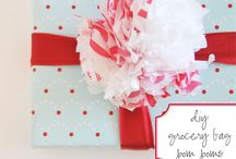 gift wrapping and packaging / by Jazmin Hooijer