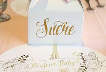Floral Baby Shower / Floral Themed Baby Shower With A French Twist Styled By Sweet Paper Shop