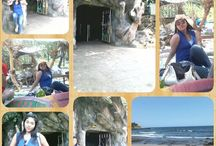 beach / Klayar beach and Gong Cave