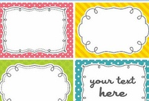 Printables / by Meredith @ Perfection Pending