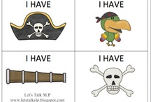 Pirate theme / by Leslie Baker