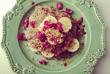 Breakfast / Healthy filling breakfasts