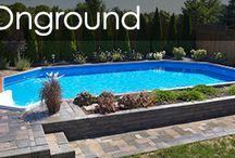 On ground pool