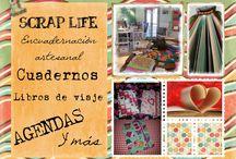 Scrap Life Local / Taller de encuadernación artesanal