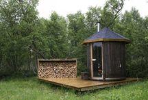Sauna Häuschen