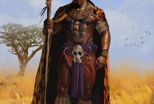 Druids and Shamans / Spiritualists, Seekers, Totemic guardians. Those who channel the primal powers of the nature.