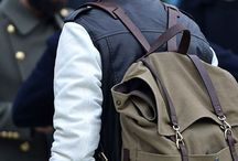 Back it up. (Backpacks) / Backpack fashion / by Hadrian Bansuan