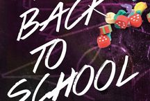 Back to School in Fashion / Take your very own style with you to school...