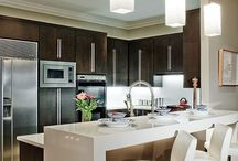 kitchen reno ideas / by Tanya Beach