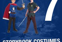 Storybook costumes for boys / costumes for boys from books such as Peter Pan, Robin Hood, Alice in wonderland and many more