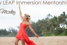 LEAP  / The 60 day LEAP Immersion Mentorship Program - get clarity around your business