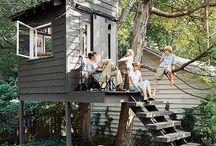 TREE HOUSES / tree houses for kids