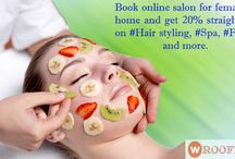Female hair salon in Gwalior / Get Ready for The Day! 30% Off on Premium Bridal Package @Rs 200 Facial, Body Polish, Full Body Chocolate Waxing, Haldi Chandan Body Bleach, #Spa, #Facial #Hair. coupons available wroofers Mobile Beauty Parlour in gwalior.