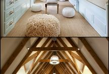 Beautiful Attics / The top floor can be the top choice. My fav attic inspirations.