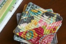 Fabric Scrap Projects / by Crystal Stewart
