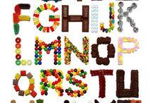 snoep letters