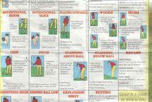 Golf aide memoire