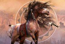Indián lovak