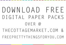 Printable Paper Packs / Printable Paper Packs