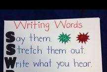 Writing Workshop Anchor Charts