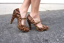 Leopard Love/Animal Print Awesomeness / Leopard, Cheetah and other animal prints