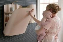 creative wall mounted baby changing tables Stuff to Buy