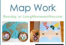 Geography for kids / Ideas for learning about human and physical geography with children under 8.