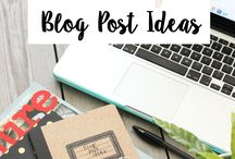 Blogging Resources / Need stuff for your blog? I got ya - find tips, freebies, guides and more here...