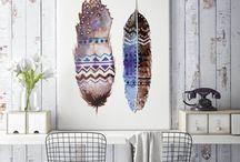 Framed canvas art prints by ZuskaArt
