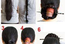 fryzury do hanbok