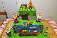 Cake Design: I 7 nani