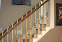 Unique Staircase Ideas / So many clever ideas revolving around our favorite things... STAIRS!