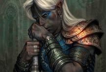 Fantasía de elfos