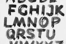 Creating an alphabet