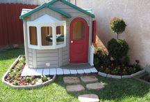 Lekeplass i hagen/backyard playground