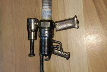 spark plug rifle
