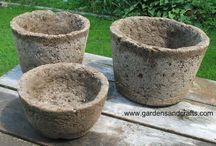 Garden Hypertufa/Cement projects / by Liz Eggers