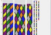 Háčkování-vzory nad 10 korálků